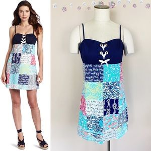 Lilly Pulitzer Rilee Sailor Patch Dress